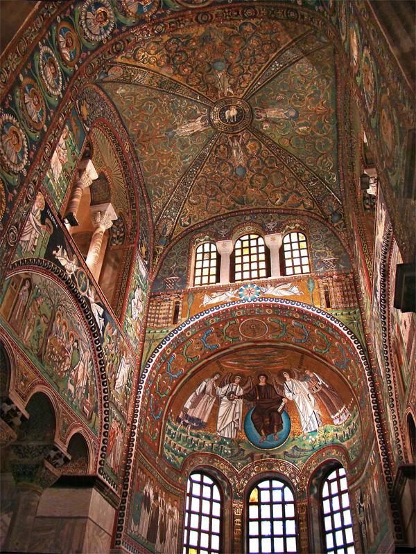 Mais belos mosaicos bizantinos I: os painéis da Igreja de São Vital em Ravena (2/4)