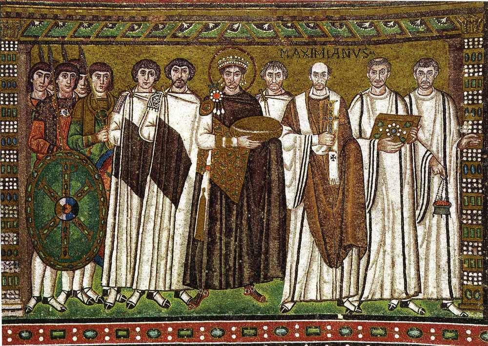 Mais belos mosaicos bizantinos I: os painéis da Igreja de São Vital em Ravena (3/4)