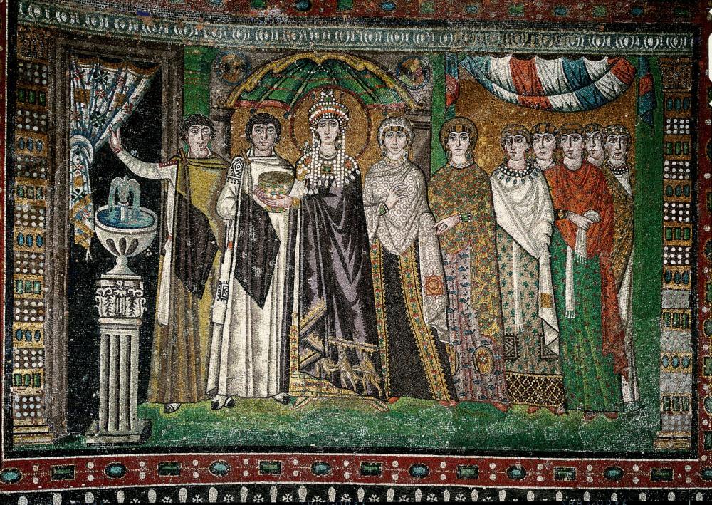 Mais belos mosaicos bizantinos I: os painéis da Igreja de São Vital em Ravena (4/4)
