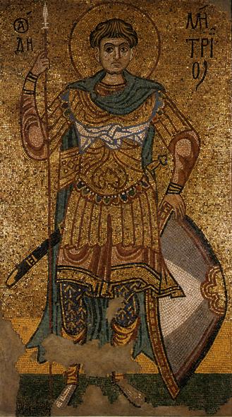 Santos guerreiros bizantinos: mártires, guerreiros e orixás (1/6)