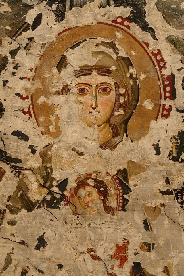 Em um dos monastérios mais antigos do mundo, pinturas únicas esperam pela sua contribuição.