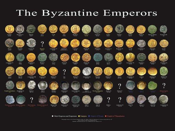 moedas de imperadores